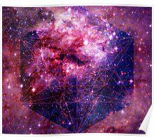 Tarantula Nebula Double Metatron's Cube [Mew] Poster
