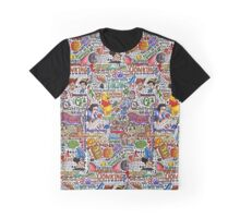 COLLAGE D Graphic T-Shirt
