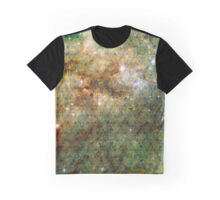 Tarantula Nebula [Blue Yellow] Graphic T-Shirt