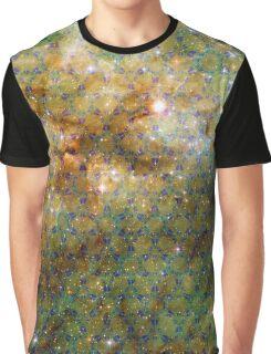 Tarantula Nebula [Blue Yellow] Graphic T-Shirt