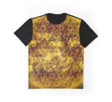 Three Magnetic Suns [Metatron's Cube Overlay] Graphic T-Shirt