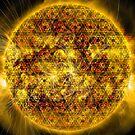 Three Magnetic Suns [Metatron's Cube Overlay] by SirDouglasFresh