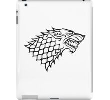 House Stark Banner iPad Case/Skin