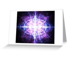 Third Eye of Jupiter Enlightened Greeting Card