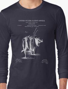 Milking Machine Patent - Blueprint T-Shirt