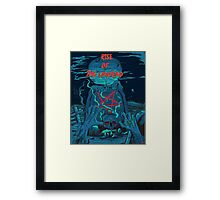 Rise of the undead  Framed Print