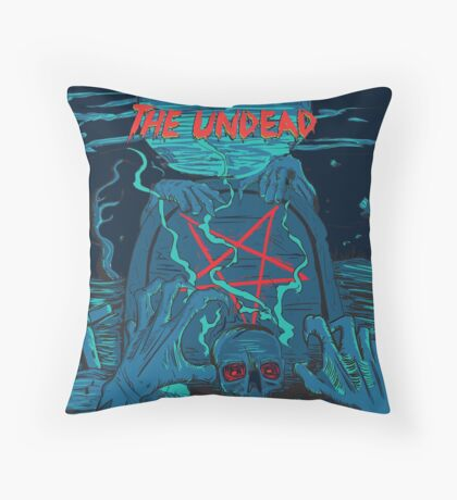Rise of the undead  Throw Pillow
