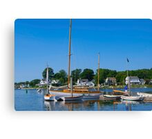 Fine Boat Collection Canvas Print