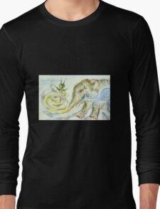 Elephant-Snail Long Sleeve T-Shirt