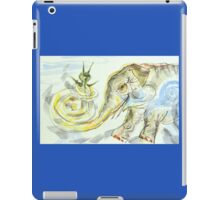 Elephant-Snail: Sergei Lefert's drawing iPad Case/Skin