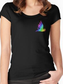 MLP - Cutie Mark Rainbow Special - Spitfire V2 Women's Fitted Scoop T-Shirt