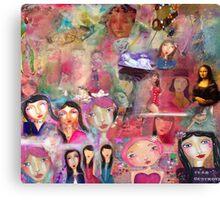 Mona lisa Canvas Print