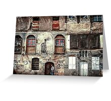 Homes in Damascus  Greeting Card