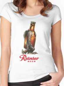 RAINER BEER LAGER Women's Fitted Scoop T-Shirt
