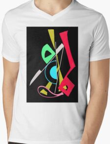 Abtag Mens V-Neck T-Shirt