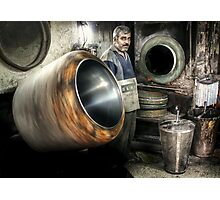 The Nut Roaster  Photographic Print