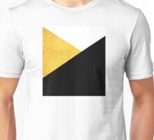 Gold & Black Geometry Unisex T-Shirt