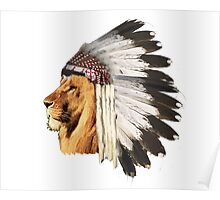 Lion Chief Poster