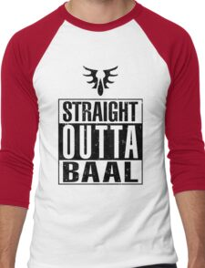 Straight Outta Baal Men's Baseball ¾ T-Shirt