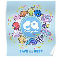 ComiQuarium Marine Life ver. Safe the Reef Poster