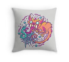 Sugar Fiend Throw Pillow
