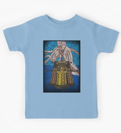 Dalek Stained Glass Kids Tee