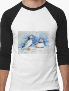 Puffins Men's Baseball ¾ T-Shirt