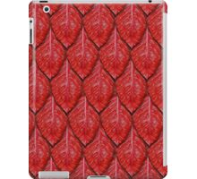 red dragon scales iPad Case/Skin