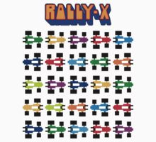 RALLY-X CLASSIC ARCADE GAME Baby Tee