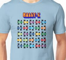 RALLY-X CLASSIC ARCADE GAME Unisex T-Shirt