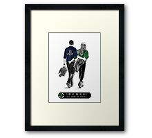 Love Knows No Console Framed Print