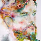 CLAUDE DEBUSSY - watercolor portrait by lautir