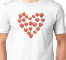 I Love Strawberries Unisex T-Shirt