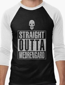Straight Outta Medrengard Men's Baseball ¾ T-Shirt