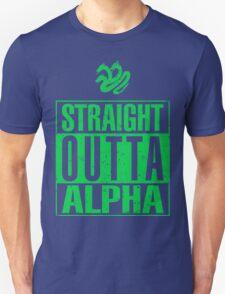 Straight Outta Alpha Unisex T-Shirt