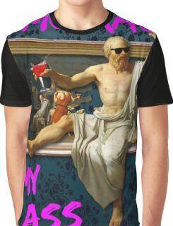 The Death (?) of Socrates Graphic T-Shirt