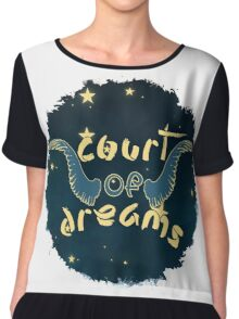 Court of Dreams Chiffon Top