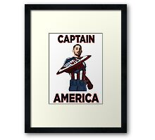 Captain America Clint Dempsey US Men's National Soccer Team Framed Print