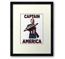 Captain America Clint Dempsey US Men's National Soccer Team Framed Print