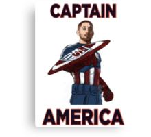 Captain America Clint Dempsey US Men's National Soccer Team Canvas Print