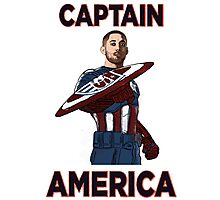 Captain America Clint Dempsey US Men's National Soccer Team Photographic Print