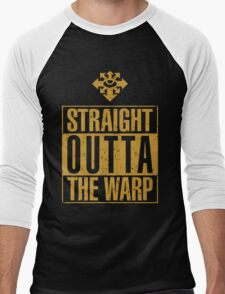 Straight Outta The Warp Men's Baseball ¾ T-Shirt