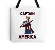 Captain America Clint Dempsey US Men's National Soccer Team Tote Bag