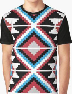 8 bit geometric pattern Graphic T-Shirt
