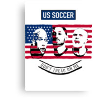 Stars of USA for World Cup 2014 Canvas Print