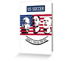 Stars of USA for World Cup 2014 Greeting Card
