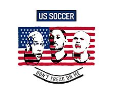 Stars of USA for World Cup 2014 Photographic Print