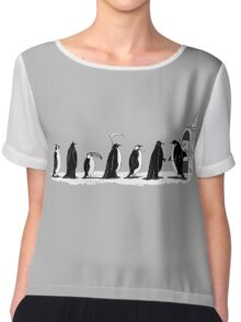 Pinguins Party Costume Chiffon Top