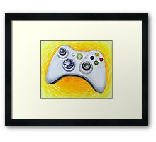 XBOX 360 Controller Impressionist Painting Framed Print