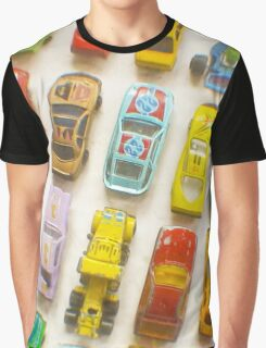 Toy Cars Graphic T-Shirt
